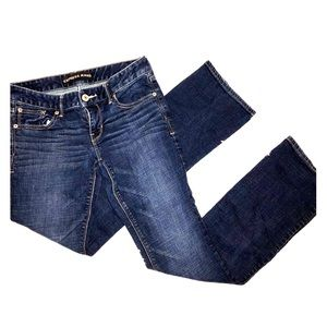 Express Stella Barely Boot Low Rise Jeans Size 2